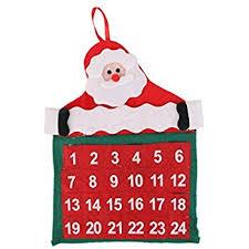 christmas calendar countdown to christmas calendar wall hanging decoration 30 x 43cm