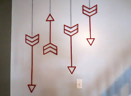 Home Decorating Made Easy by Delightful Interior House With Easy Wall Art Decor Of Bow Made Of