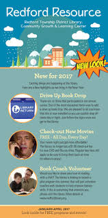 january 2017 april 2017 by redford township district library issuu