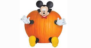 Festive Mickey Mouse Halloween Pumpkin Decoration Kit