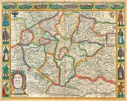 bohemia map antique map of bohemia by j speed sanderus antique maps