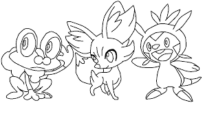 greninja pokemon coloring pages getcoloringpages