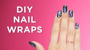 diy nail wraps youtube