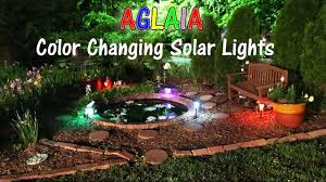 Landscaping Solar Lights by Aglaia Color Changing Solar Lights Outdoor Product Review