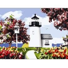 Lakeside Home Decor Popular Lakeside Landscape Paintings Buy Cheap Lakeside Landscape