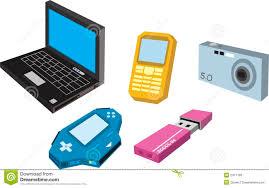 electronic gadgets electronic gadget stock illustration illustration of laptop 2471793