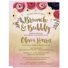bridal shower invitations brunch bridal shower invitations lavender gold the spotted olive