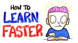 how to how to learn faster youtube
