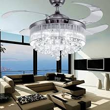 42 inch flush mount ceiling fan colorled ceiling flush mounted light kit crystal silver drawing