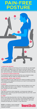 Computer Desk Posture How To Sit At Gaming Desk Correctly Gaming Accessories Guide