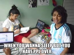 Ciara Meme - when you wanna sleep but you have ppl over feelsy ciara meme