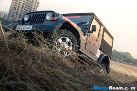 mahindra jeep 2015 mahindra thar crde test drive review