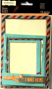 themed frames recollections travel themed frames embellishments products