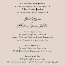 wedding invitation card messages paperinvite