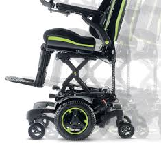 Power Chair With Tracks Quickie Qm 7 Series With Sedeo Ergo Seating Electric Power