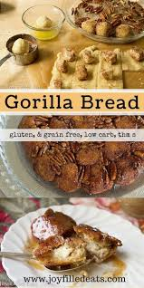 best 25 gorilla bread ideas on pinterest cream cheese monkey