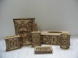 polyresin bathroom accessories resin bath set resin home