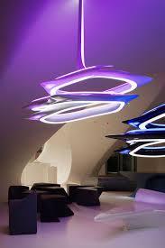 Futuristic Design Vortex Chandelier Lamp Zaha Hadid Patrik Schumacher Sawaya