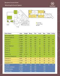 Grand Arena Grand West Floor Plan by North Phoenix Az Hotels Sheraton Crescent Hotel