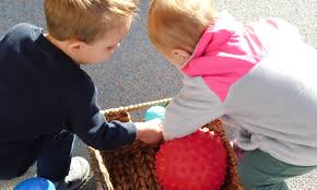 beyond bouncing the ball toddlers and teachers investigate