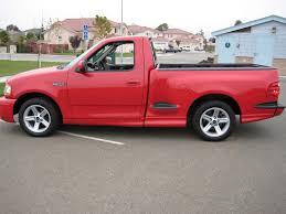 2003 ford lightning svt red gray 19300 miles northern