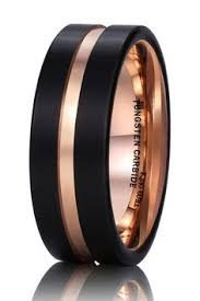 Mens Wedding Rings Black by 25 Unique Wedding Bands For Men Popsugar Engagement And Unique