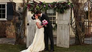 wedding arch log how to build a wedding arch and chuppa on a budget hgtv