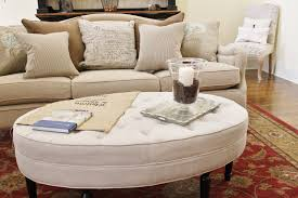 Ottoman Table Storage by Diy Oval Button Tufted Ottoman Hymns And Verses Coffee Table