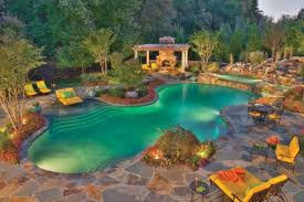 swimming pool landscaping ideas with pic of awesome swimming pool