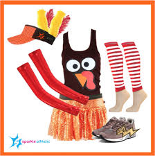 sparkle athletic thanksgiving turkey running costume sparkle