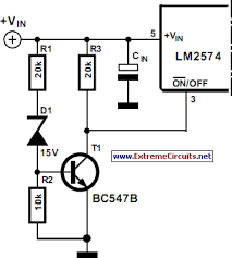soft start for switching power supply circuit diagram