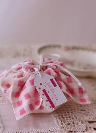 fabric gift pouch a spoonful of sugar