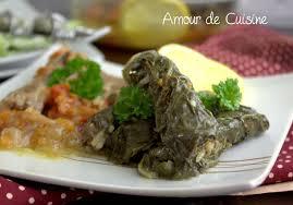 cuisine des blettes feuilles de blettes farcies recette libanaise amour de cuisine