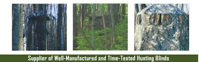 Natural Hunting Blinds Hunting Blinds Ground Blinds Tree Blinds Deer Hunting Blinds