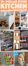 Organizing Kitchen Shelves Put That Hard To Reach Cupboard Above The Fridge To Awesome Use