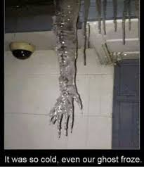 It S So Cold Meme - it was so cold even our ghost froze meme on esmemes com