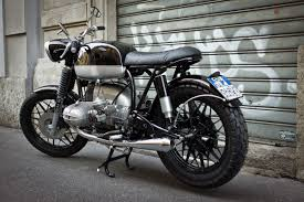bmw motorcycle cafe racer wind blown