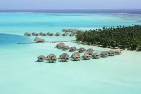 stunning overwater bungalows