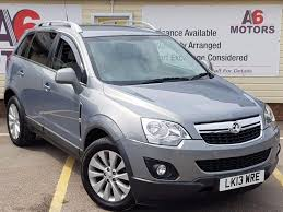 used 2013 vauxhall antara 2 2 cdti diamond awd 5dr for sale in