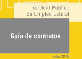 bonificaciones contratos 2016 guía de contratos de trabajo sepe actualizada a julio 2016