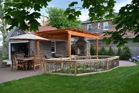 a backyard upgrade with a unique vegetable garden fence hometalk