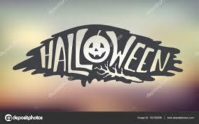 Happy Halloween Banner by Happy Halloween Calligraphy Backgrounds Vector Banner U2014 Stock