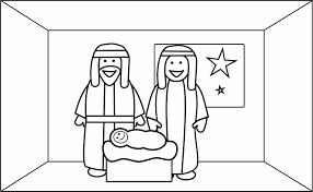 joseph coloring pages christmas coloring