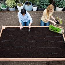 Plans For Making A Garden Table by How To Build A Raised Garden Bed Sunset