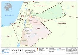Jordan River Map 1 Jordan Country Profile Logistics Capacity Assessment Wiki