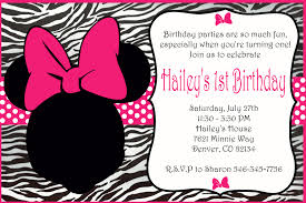 pink minnie mouse invitation on handmade artists u0027 shop