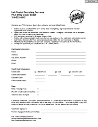 fax cover sheet word doc to download editable fillable