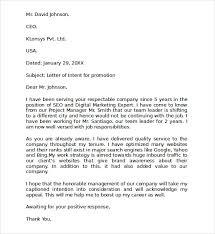 sample letter of interest promotion letter sample proper cover letter for internal position