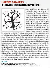 arbre canapas bel article dans jazz l arbre canapas formation musicale