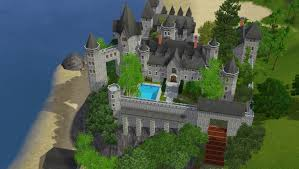 sims 3 castle by ramborocky on deviantart